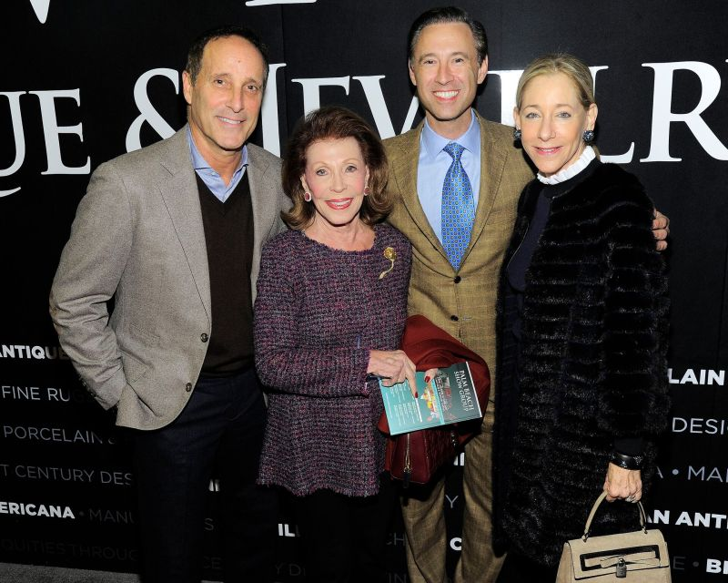 Richard Steinberg, Lawrence Kaufman, Scott Diament and Renee Steinberg _Credit Owen Hoffmann