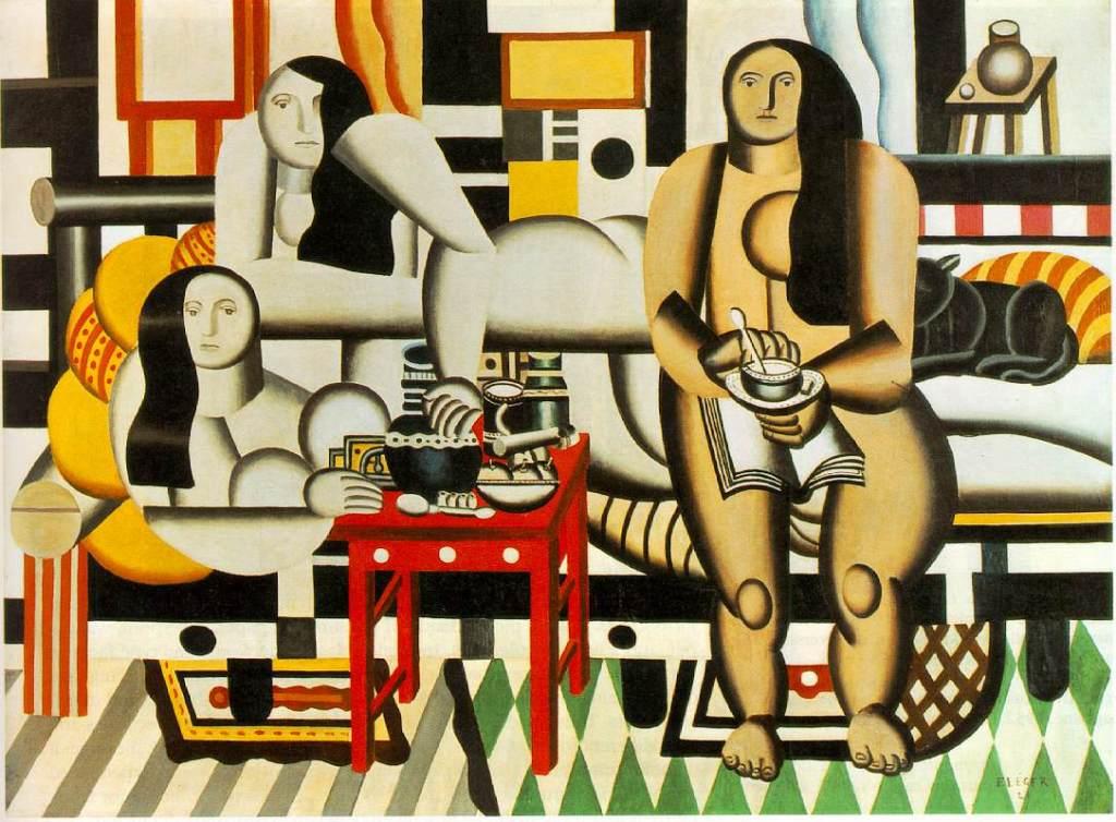"Ferdinand Leger ""Three Women"""