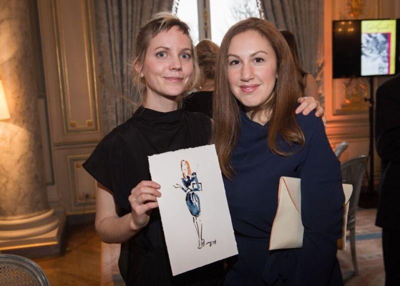 8_International Live Fashion Artist Danielle Meder & Doreen Bloch of Poshly.com