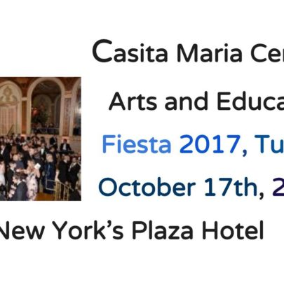 Celebrate Art,  Education and Philanthropy With Casita Maria Center for Art and Education