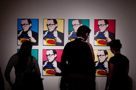 Artists replicate Warhol's influential style