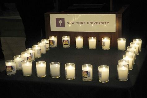GALLERY: NYU Vigil for Newtown, 12/17