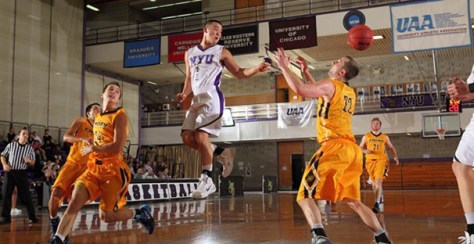 Men's, women's basketball split games with Emory, Rochester