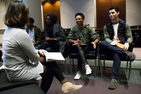 Third CAS Upstander Dialogue Engages Students in Diversity Talks
