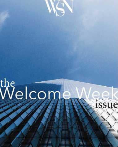 The Welcome Week Issue