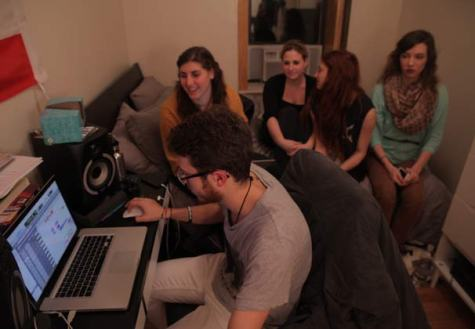 Behind the scenes of 'Diamonds': Clive Davis students reveal process