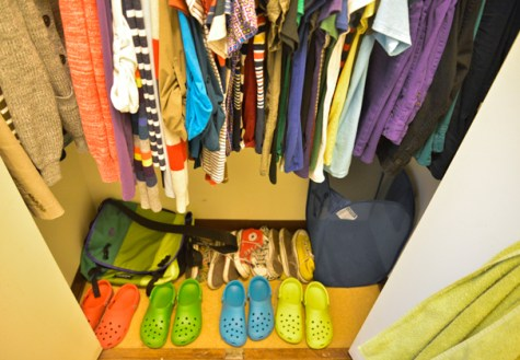 Student's bright, sensible clothes exude positive vibes