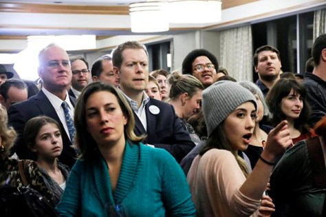 GALLERY: Grim mood at New York State Republican elections party