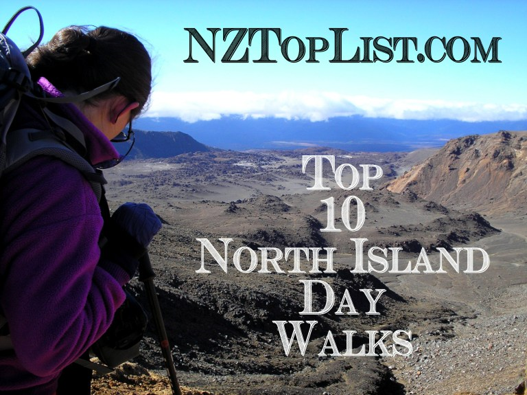 Top 10 North Island Day Walks NZ Top List Tongariro Crossing