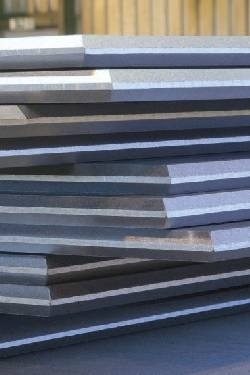 Chrome Moly Steel Plates with weld edge preparation ready for immediate dispatch