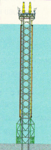 Figure 24: Heavy steel plates for offshore platforms, Petronius Tower