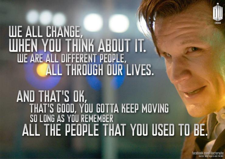 OakMonster - Doctor Who - We all change