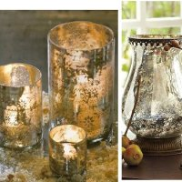 Ageless Beauty - Decorating With Mercury Glass