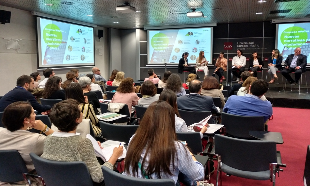 I Congreso Innova + C, organizado por la Asociación de Directivos de Comunicación, Dircom