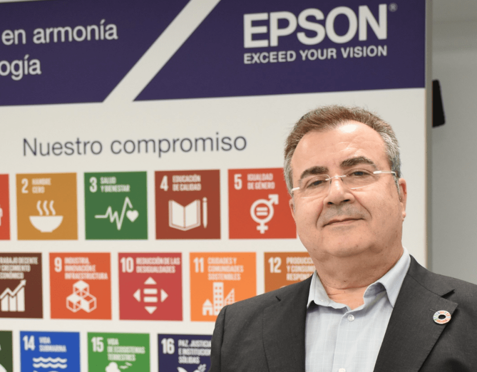 Joan Escoté, Sustainability Manager | Epson Ibérica