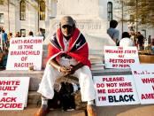 Anthony Hervey said anti-racism is anti-White