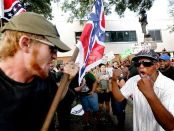 League of the South confronts Cultural Marxists in Gainesville, FL