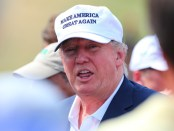 GOLF: AUG 30 PGA - Donald Trump at The Barclays
