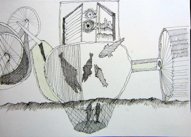 China su carta - cm 24 x 33