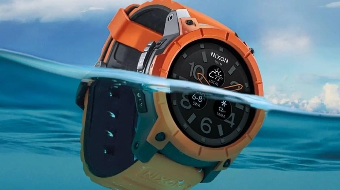 El primer Smartwatch para surfistas: Nixon The Mission.