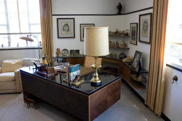this is walt disneyu0027s formal office in the 3h wing of animation building on original x