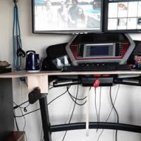 Homemade Treadmill Desk
