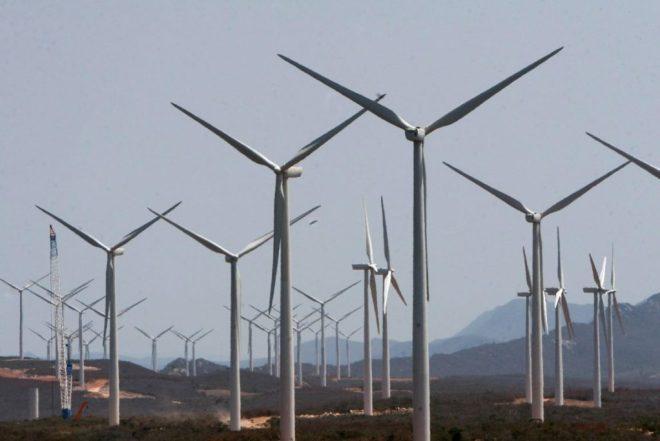 Parque de Energia Eólica em Brotas de Macaúbas, na Bahia. Foto: Alberto Coutinho/Secom-BA.