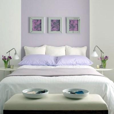 Bedroom design Purple – Lilac 20 ideas for interior ...