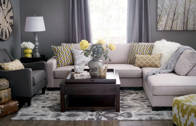 Color ideas for living room     gray wall paint    Interior Design     Living room