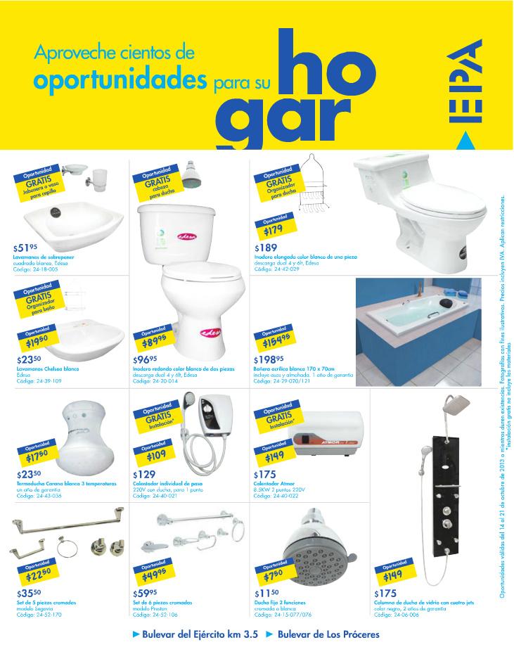Accesorios De Baño Oferta:Ofertas EPA accesorios para baño – 14oct13