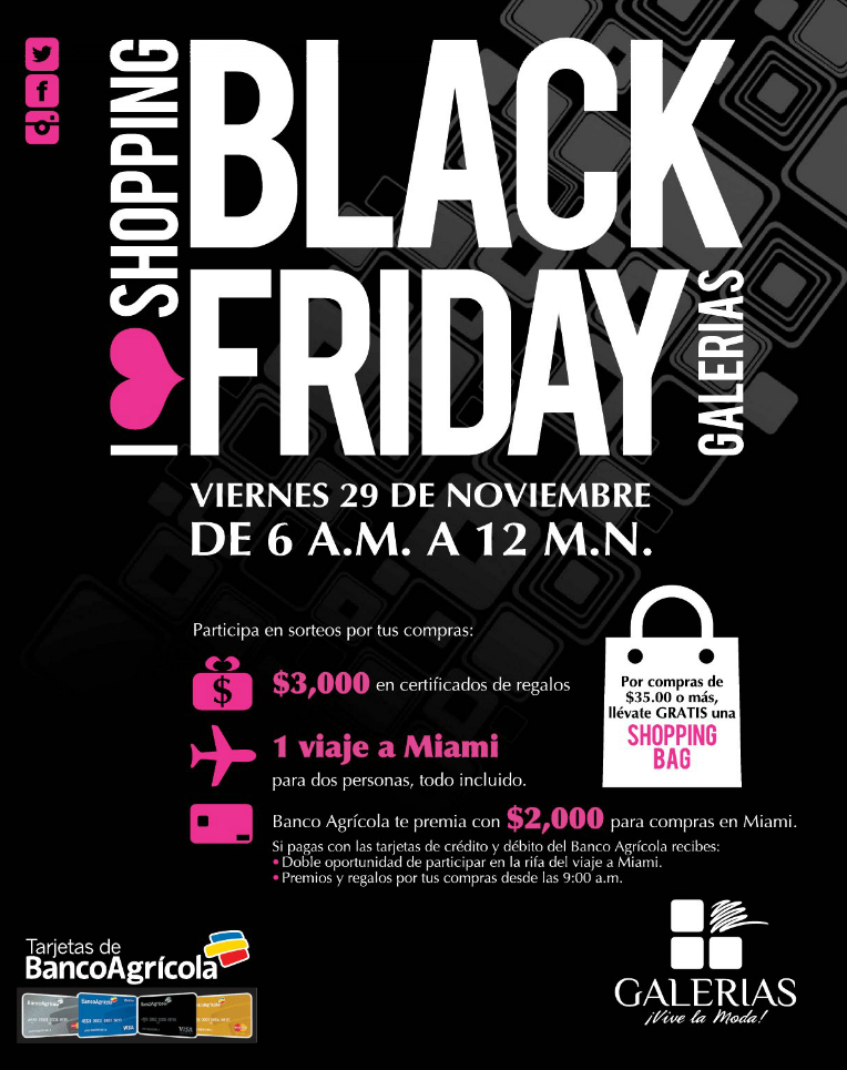 GALERIAS promociones shopping BLACK Friday 2013