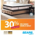SEARS descuento en camas SEALY luxury chocalat - 15nov13