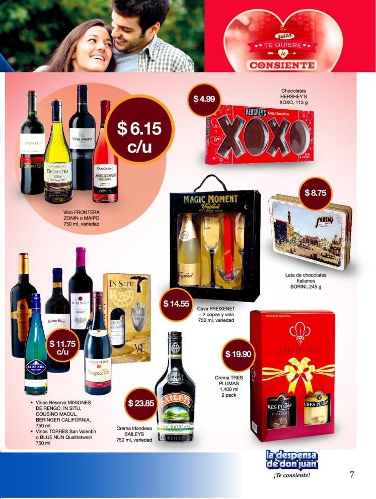 La Despensa de Don Juan 2014 Guia de Compras No2 San Valentin vinos y chocolates