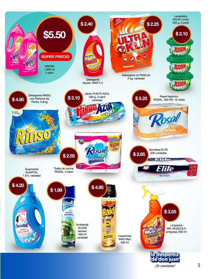 La Despensa de Don Juan 2014 Guia de Compras No2 Todo para lavar