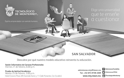 Universidad mexicana TECNOLOGICO DE MONTERREY descubre