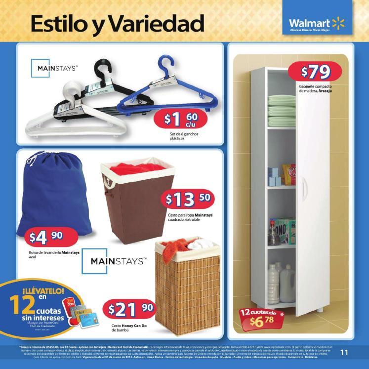 acomada tu hogar con Walmart Guia de compras No3 2014