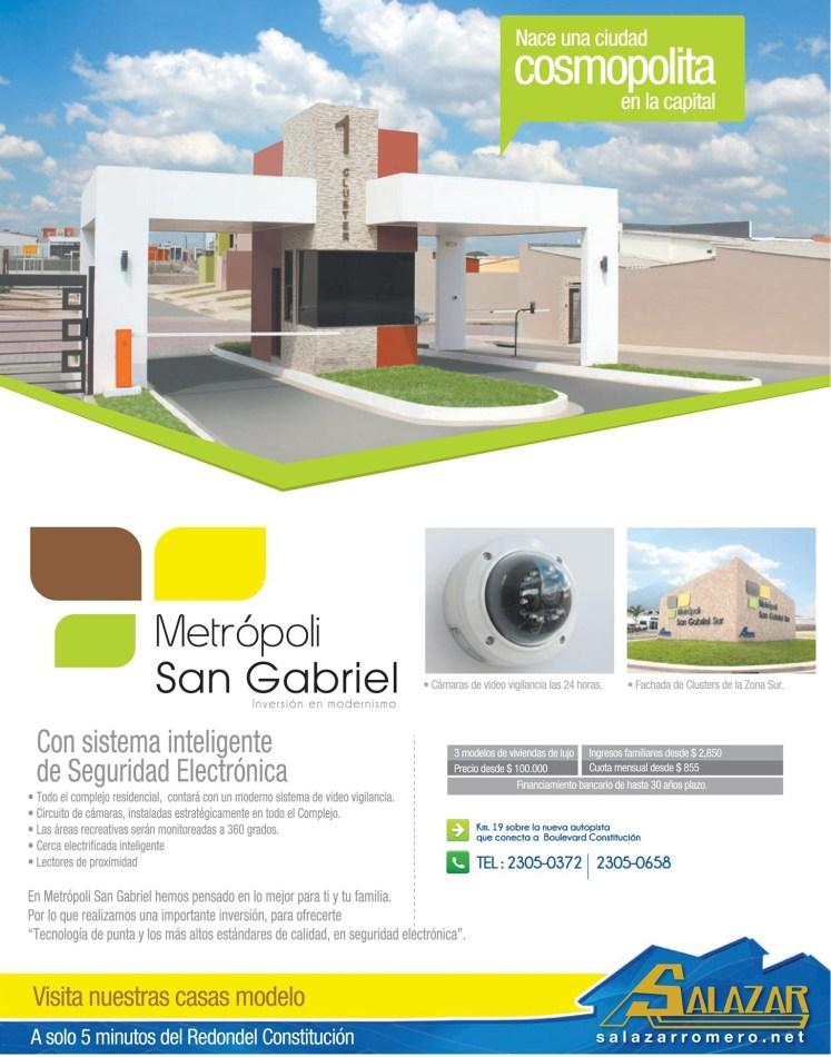 ciudad cosmopolita METROPOLI SNA GABRIEL - 05feb14