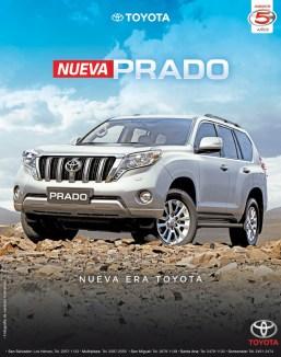 new PRADO toyota 2014 auto van