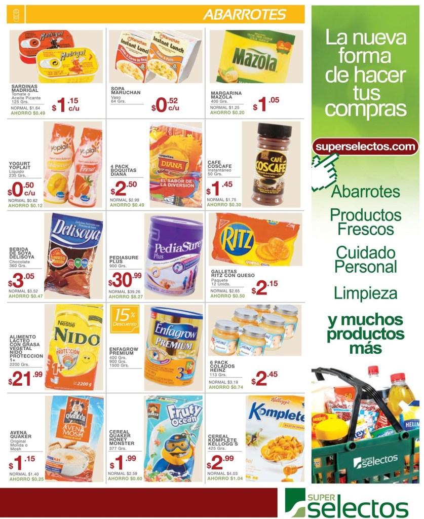 Compras y ofertas en linea SUPER SELECTOS - 28mar14