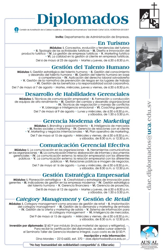 DIPLOMADOS category managment y retail