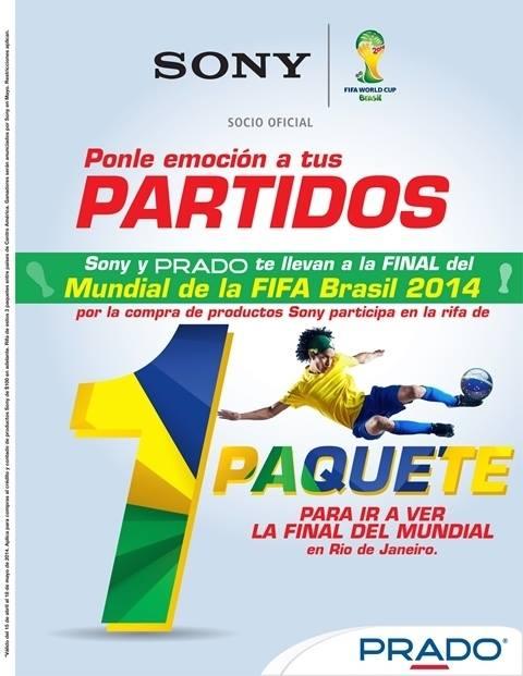 Rifa paquete Rio brasil PRADO sv - 12may14
