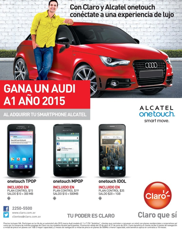 smart move ALCATELL onetouch experiencia de lujo