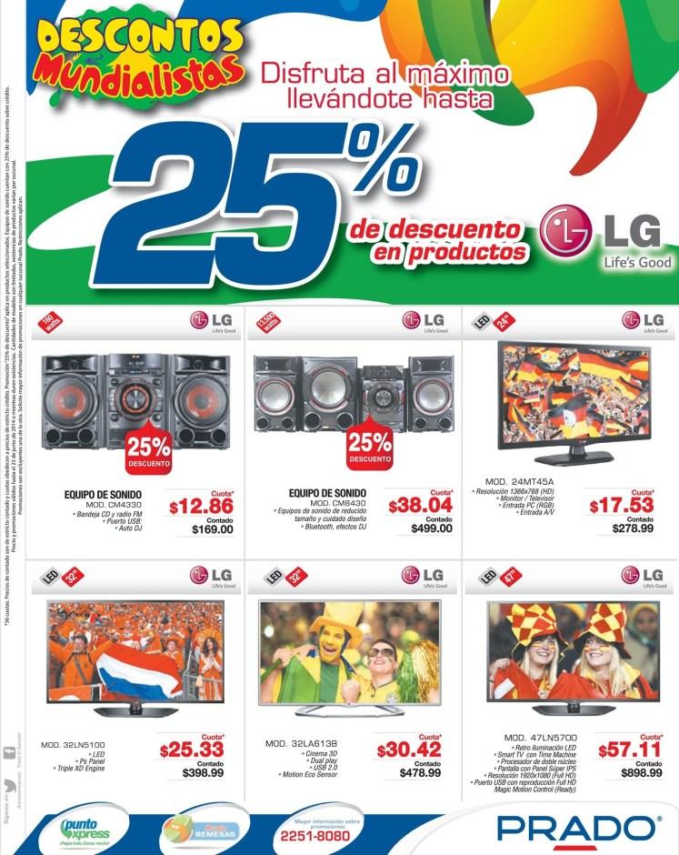 Audio Video Imagen HD LG descuentos PRADO - 20jun14