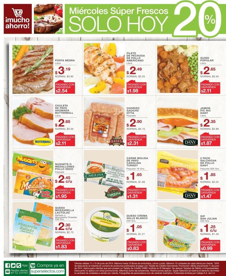 Compra tus ofertas de este dia SUPER SELECTOS - 11jun14