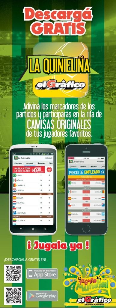 Descarga GRATIS app EL Grafico quiniela