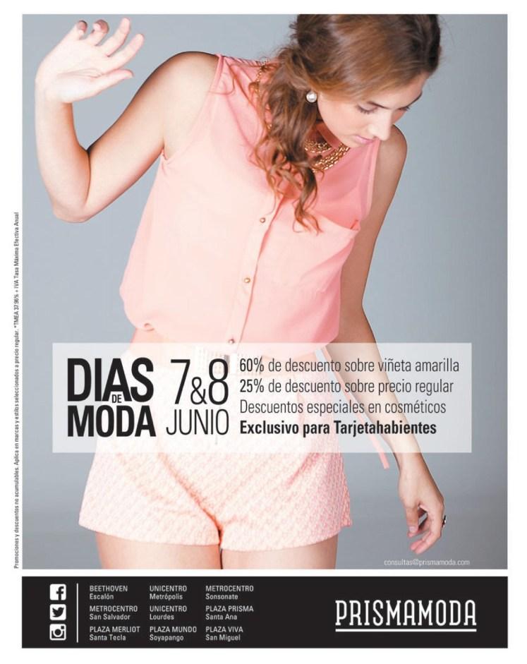 Descuentos Prisma Moda DIAS de MODA fashion day - 06jun14