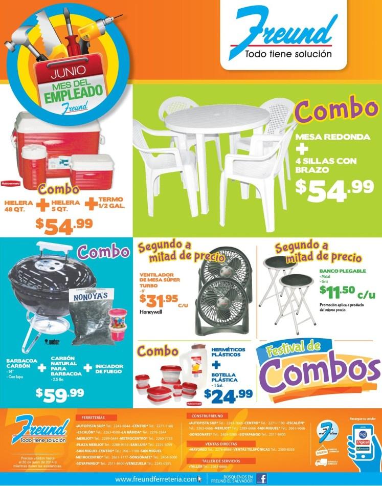 Feria de Combos AHORA lunes FREUND - 09jun14
