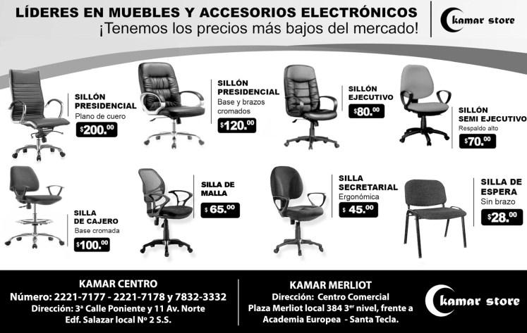 Los mejores muebles para tu oficina KAMAR STORE - 03jun14
