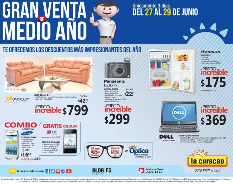 Precios increibles en tiendas LA CURACAO ofertas - 27jun14