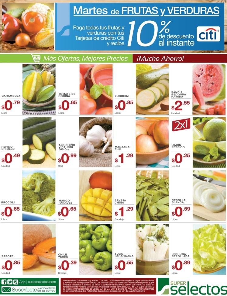 SUPER SELETOS martes de frutas y verduras - 17jun14